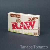 RAW(ロウ)オーガニック300 1+1/4  76mm×44mm 300枚