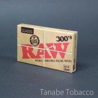 RAW(ロウ)クラシック300 1+1/4  76mm×44mm 300枚