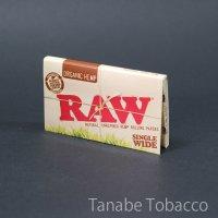 RAW(ロウ)オーガニック・ダブル  70mm×36mm 100枚
