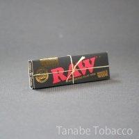 RAW(ロウ)クラシック・ブラックゴールド・シングル  70mm×36mm 50枚