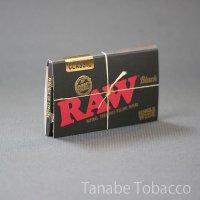 RAW(ロウ)クラシック・ブラックゴールド・ダブル  70mm×36mm 100枚