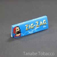 ジグザグ ブルー シングル 69mm×36mm 50枚