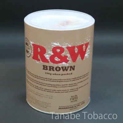 画像1: R&W ロウ オーガニックブラウン ペーパー缶(100g)